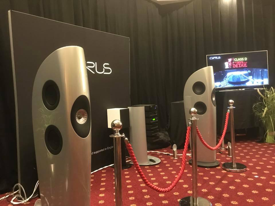 KEF Blade Loud Speakers at Bristol Show 2018